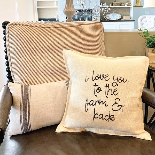Choose Your Design <br>Sayings Pillow
