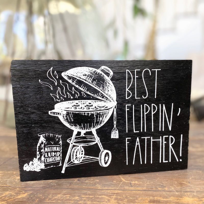 Best Flippin' Father <br>Shelf Block