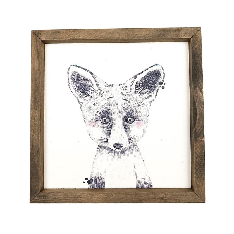 Fox <br>Framed Art