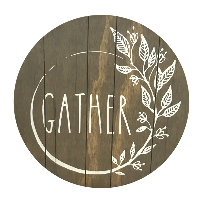Gather Wreath <br>Lazy Susan
