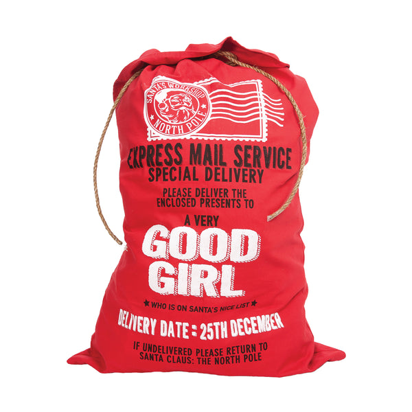 Good Girl Santa Bag