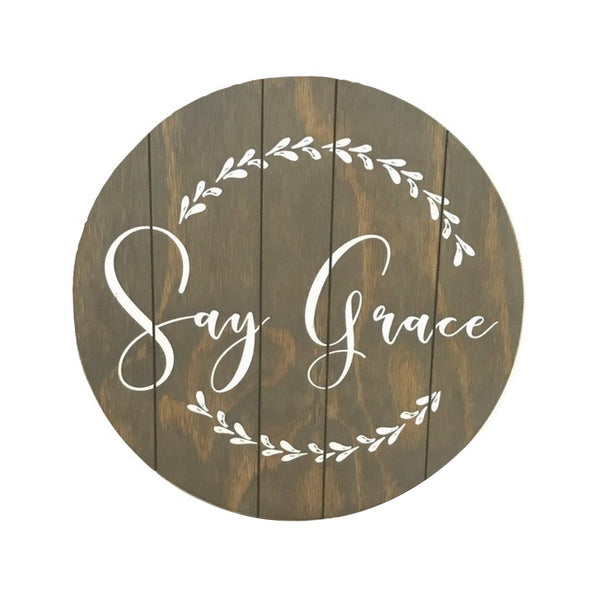 Say Grace <br>Lazy Susan
