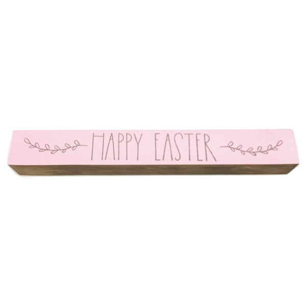 Happy Easter <br>Shelf Saying