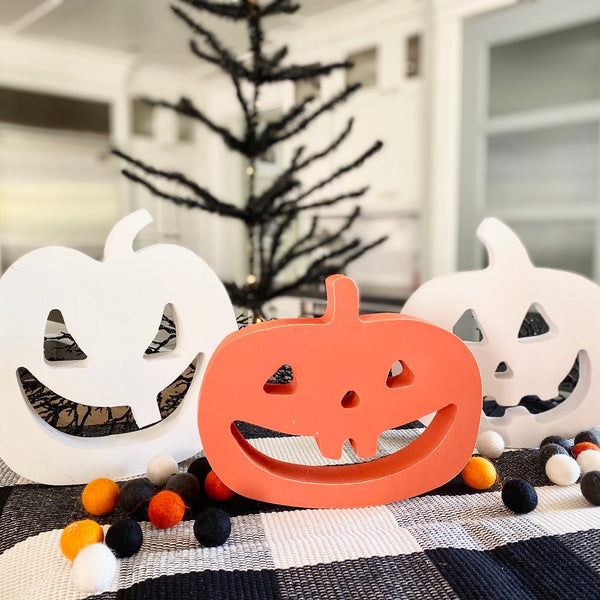 Jack O Lantern Shape Cutout <br>Set of Three
