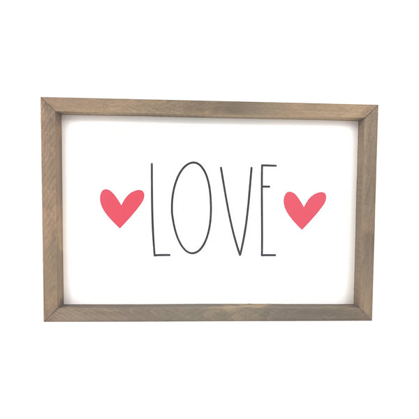 Love <br>Framed Saying
