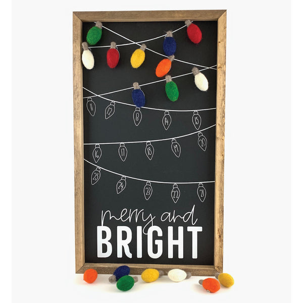 Merry & Bright Light <br>Magnetic Advent