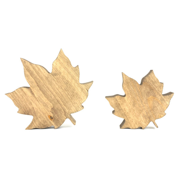 Leaf Shape Cutout <br>Set of Two