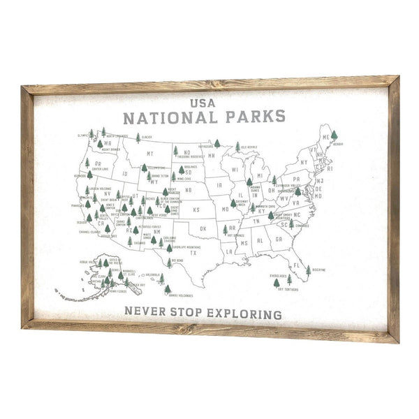 National Parks Pinboard