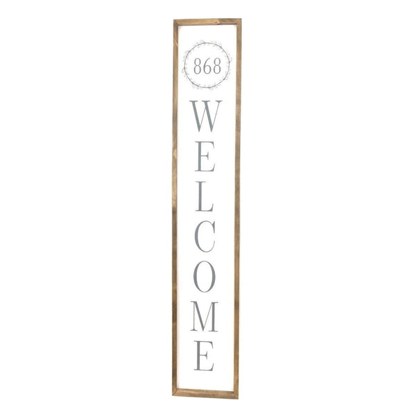 Personalized Address Welcome <br>Porch Board