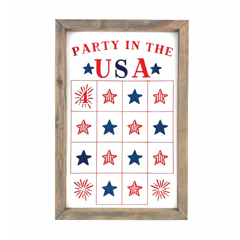Party in the USA <br>Fourth of July Star Countdown