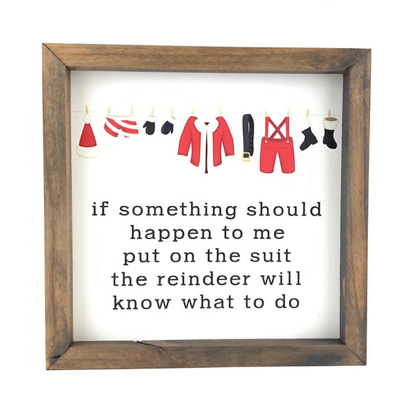Put On The Suit Full Color<br>Framed Print