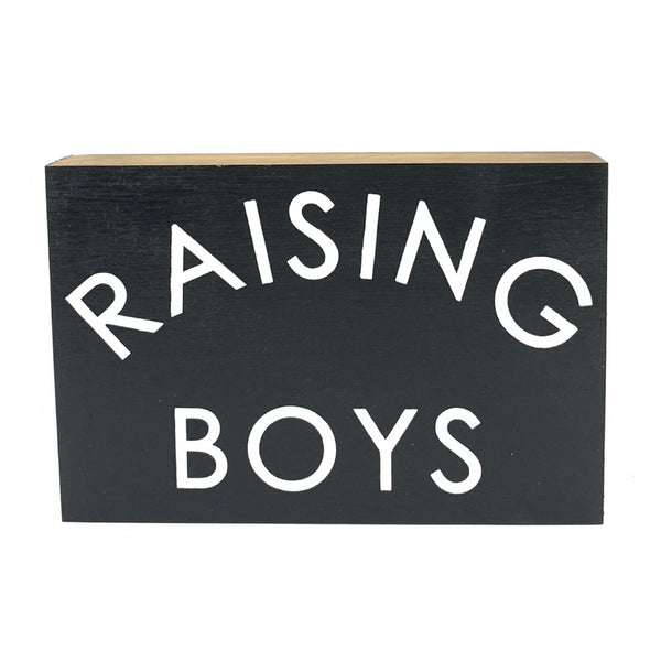 Raising Boys <br>Shelf Block