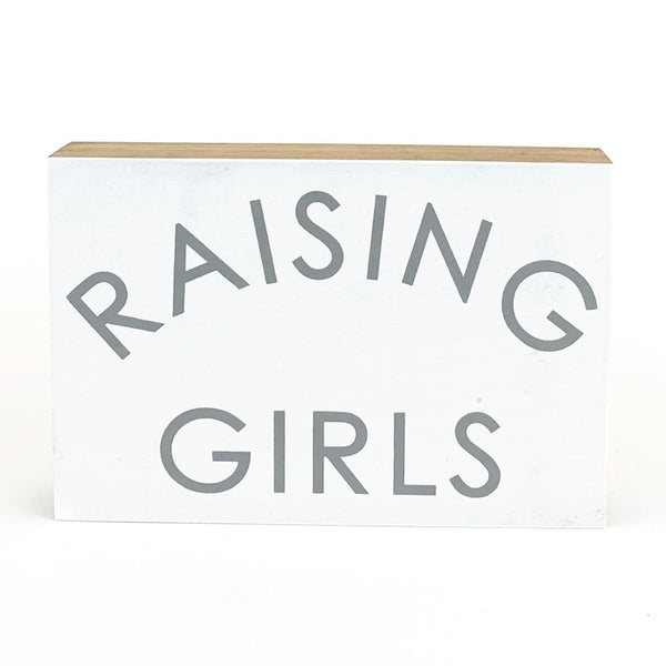 Raising Girls <br>Shelf Block