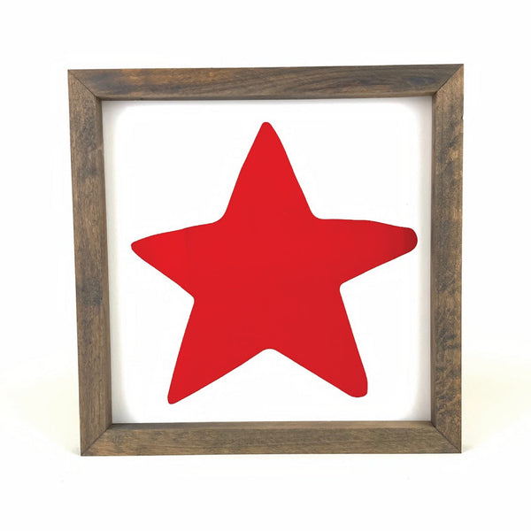 Star Framed Art