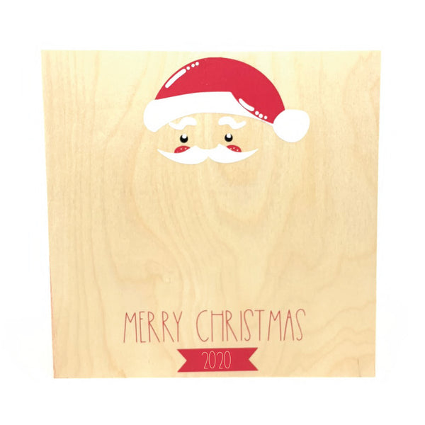 Santa Holiday Hand Keepsake