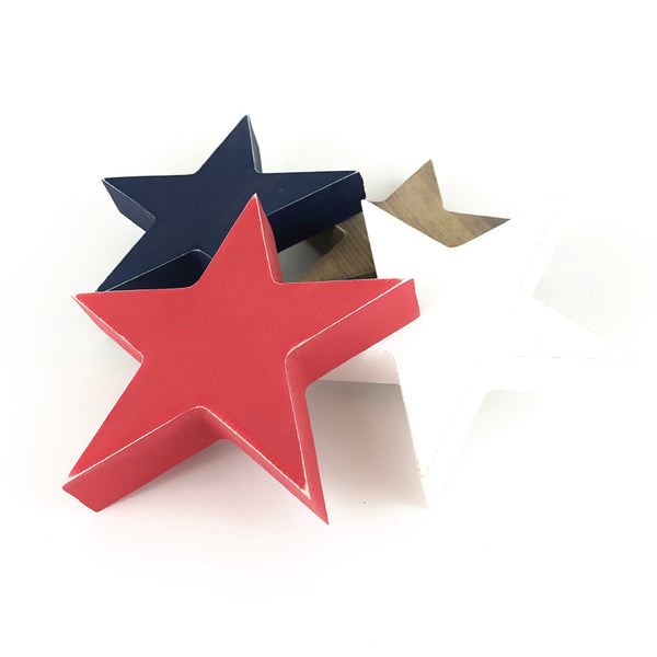 Solid Stars <br>Set of Three