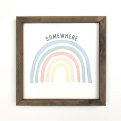 Somewhere <br>Framed Art
