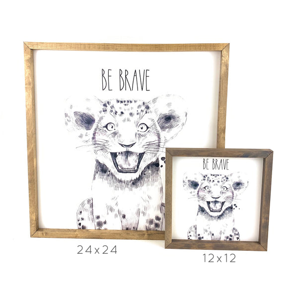 Baby Zebra <br>Framed Art