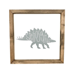 Stegosaurus <br>Framed Art