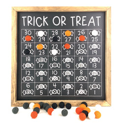 Trick or Treat <br>Magnetic Countdown