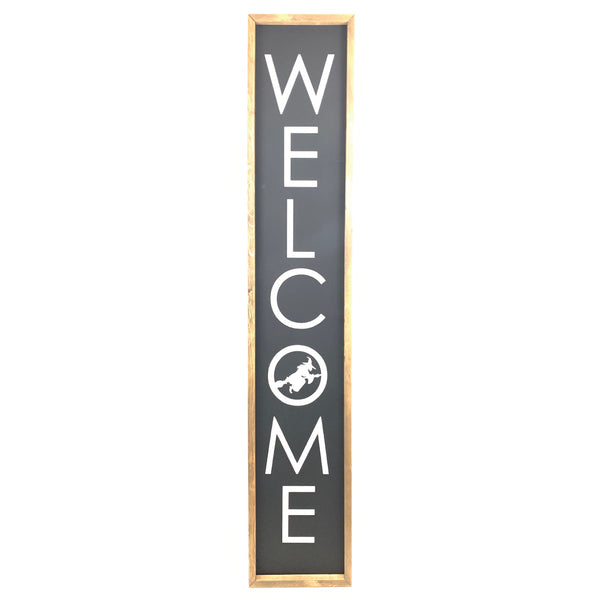 Witch Welcome <br>Porch Board