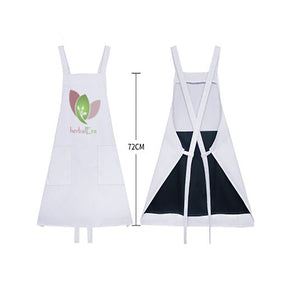 Herbalera apron with a waterproof vinyl protection