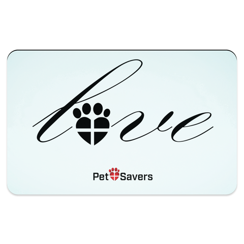 Paw Love Pet Placemat