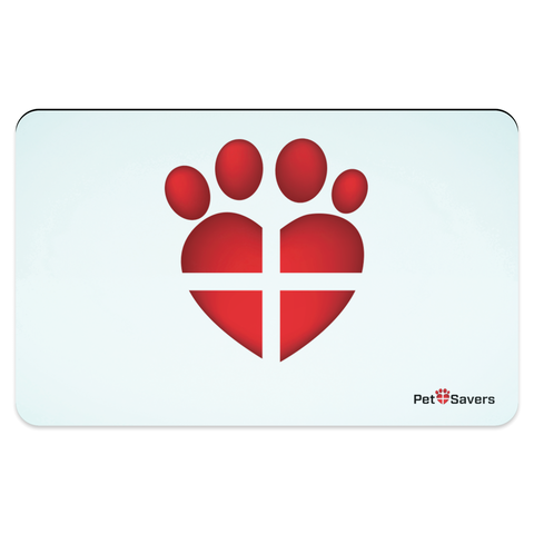 Paw Pet Placemat