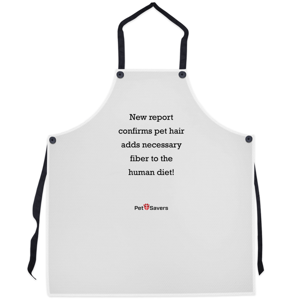 Pet Hair Diet Apron