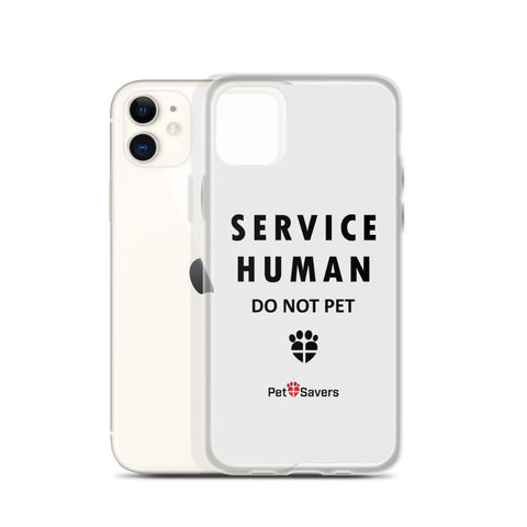 Service Human iPhone Case