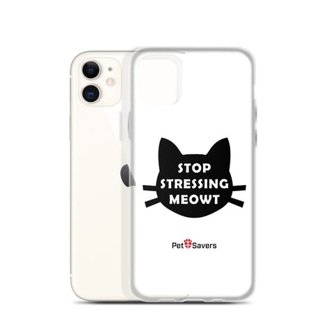 Stop Stressing iPhone Case