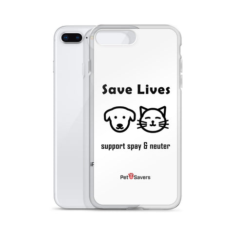 Save LIves iPhone Case