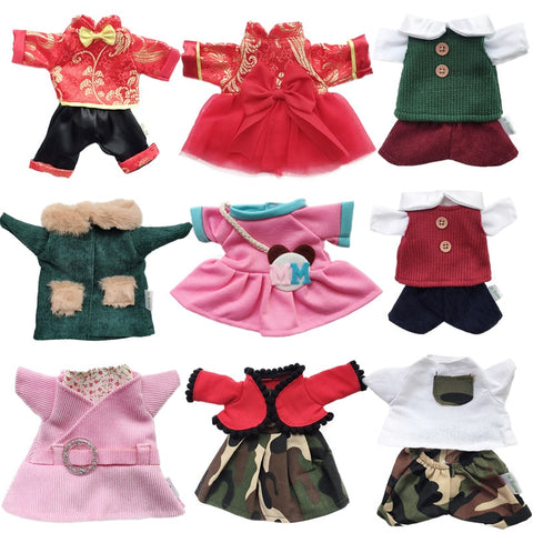 30cm Doll Clothes for Cat Plush Toys