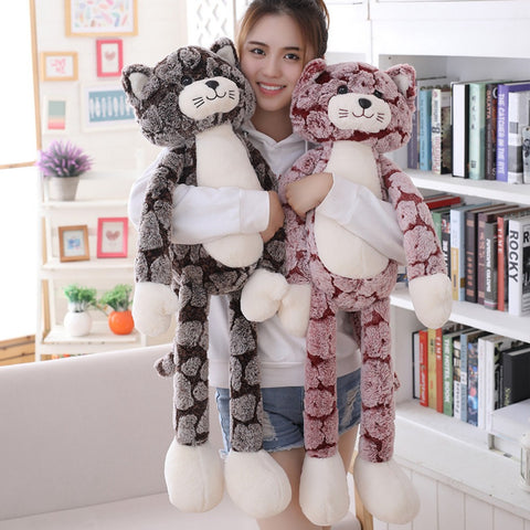 50-90cm Cat Plush Toy