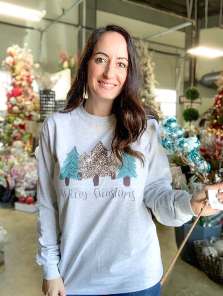 Christmas Tree Long Sleeve Tee