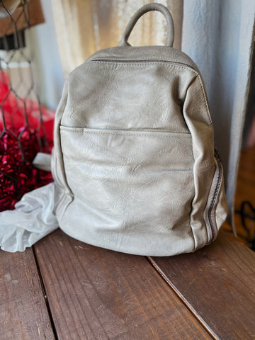 Stone Backpack Purse