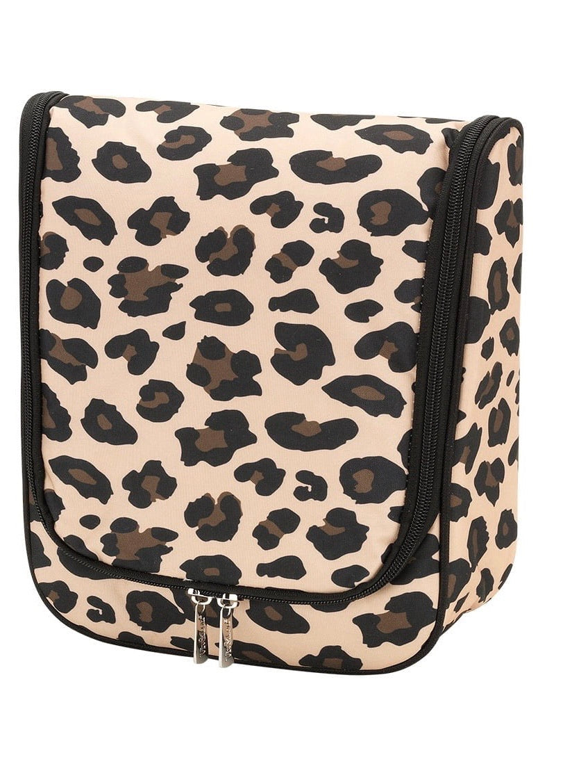 Brown Leopard Hanging Travel Caddy