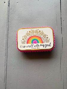 Natural Life Rainbow Prayer Box