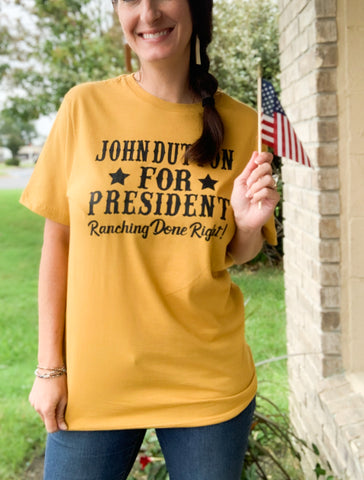 John Dutton For President T-Shirt