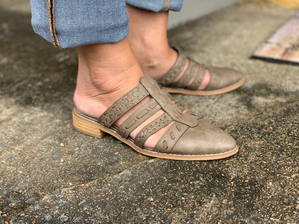 Light Brown Mules