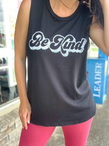 Black Be Kind Tank