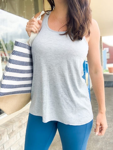 Light Grey Racerback Tank