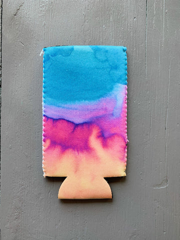 Watercolor Slim Can Sleeve