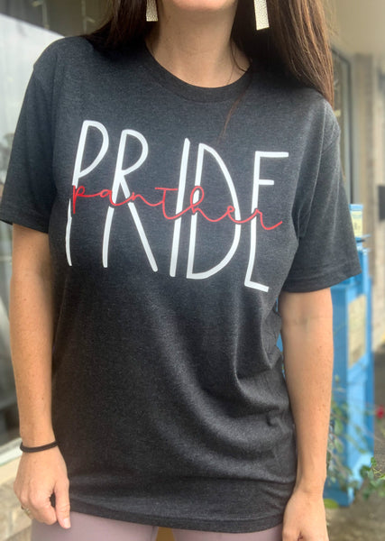Charcoal Panther Pride T-Shirt