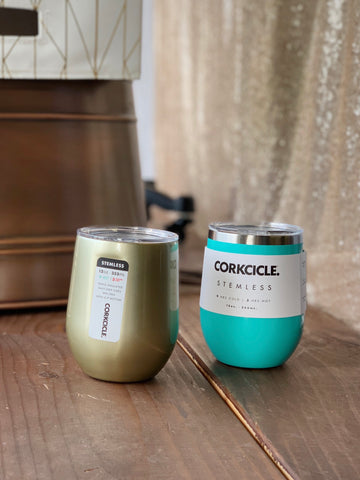 Corkcicle Stemless Insulated Cup