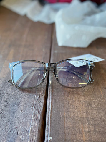 Acrylic Grey Blue Light Glasses