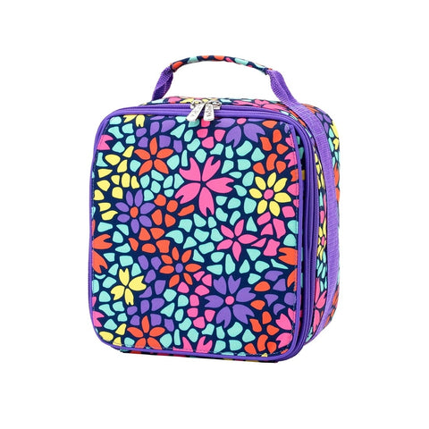 Multicolor Geo Floral Lunchbox