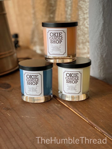 Okie Essential Oil Candles