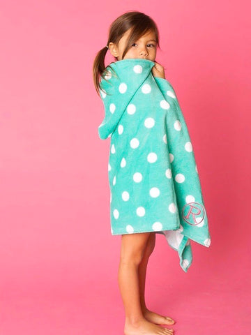 Girls Kids Wrap Towel