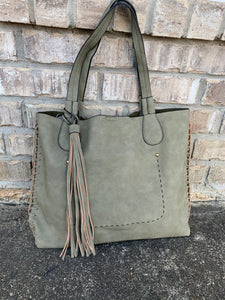 Dusty Olive Handbag